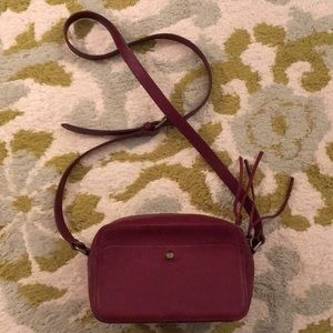 Madewell burgundy crossbody